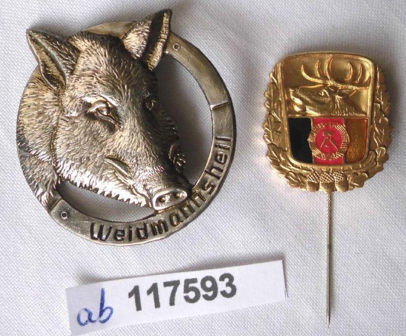 Große Ehrennadel für besondere Leistungen im Jagdwesen der DDR  (117593)