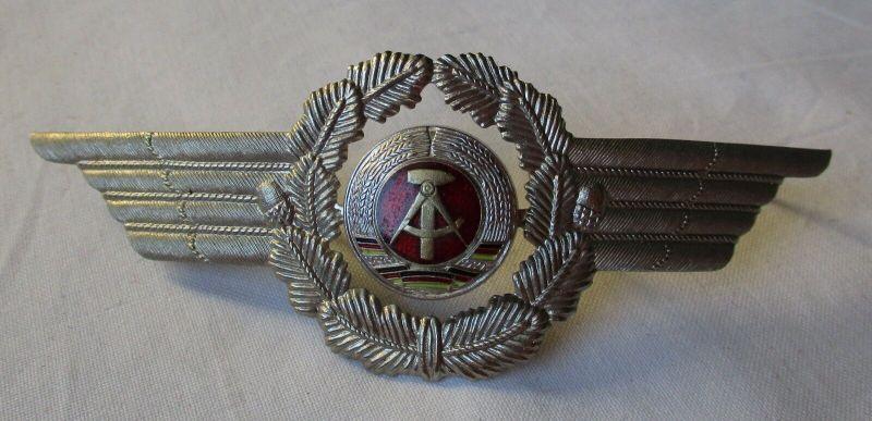 DDR Mützenabzeichen Mützenkokarde Offizier Luftstreitkräfte (107542)