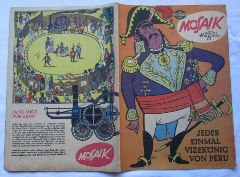 Mosaik von Hannes Hegen Digedag Nummer 74 von 1963 (130181) 0
