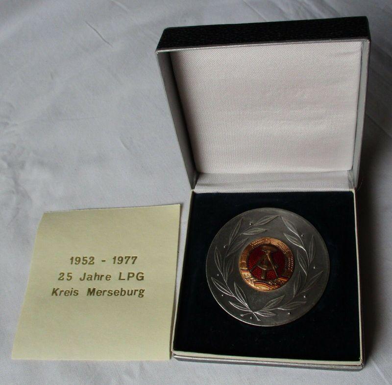 DDR Medaille 25 Jahre LPG Kreis Merseburg 1952 - 1977 (130004)