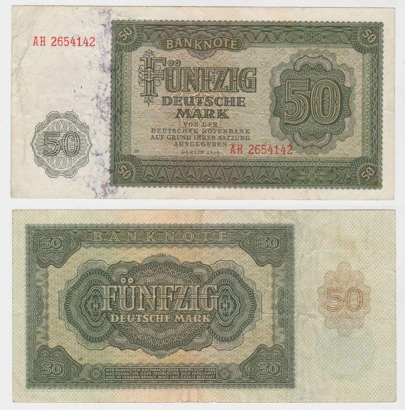 Banknote 50 Mark DDR 1948 Deutsche Notenbank (130069)