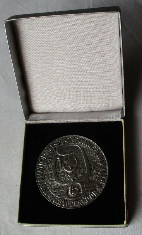 DDR Medaille Internationales Boxturnier Halle DBV der DDR 1973 (130005)