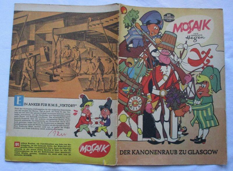 Mosaik von Hannes Hegen Digedag Nummer 69 von 1962 (130200)
