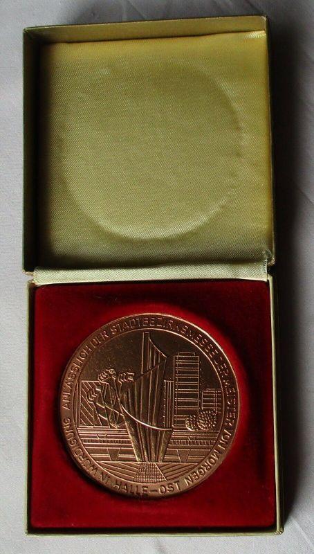 DDR Medaille Stadtbezirksmesse der Meister von morgen Halle-Ost (130006)