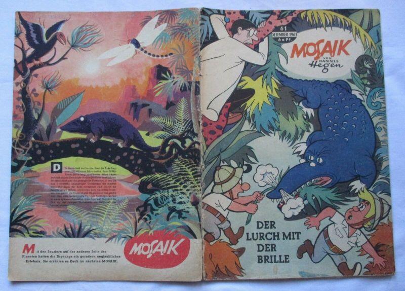 Mosaik von Hannes Hegen Digedag Nummer 61 von 1961 (130197)