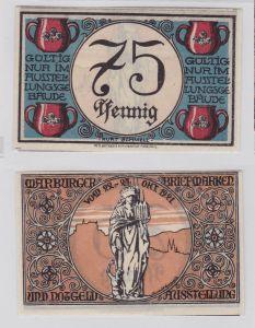 75 Pfennig Banknoten Notgeld Marburger Briefmarken-& Notgeld Ausstellung(126123)