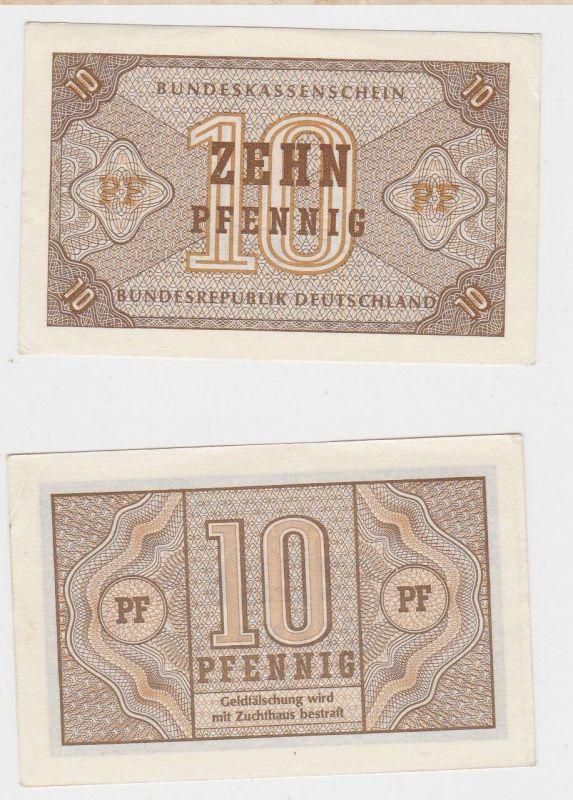 10 Pfennig Banknote Bundeskassenschein o.D. (1967) Rosenberg Nr.315 (129388)
