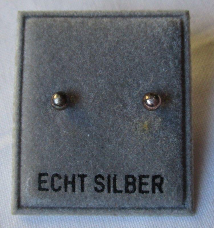 Dekorative Ohrringe Ohrstecker 925er Sterling Silber (126087)