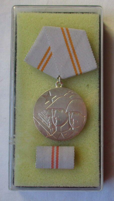 DDR Medaille der Waffenbrüderschaft in Silber im Etui (103448)