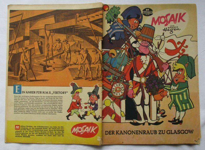 Mosaik von Hannes Hegen Digedag Nummer 69 von 1962 (129204)