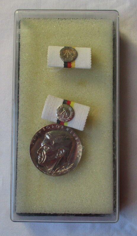 DDR Orden Dr. Theodor Neubauer Medaille in Silber im Etui (104119)