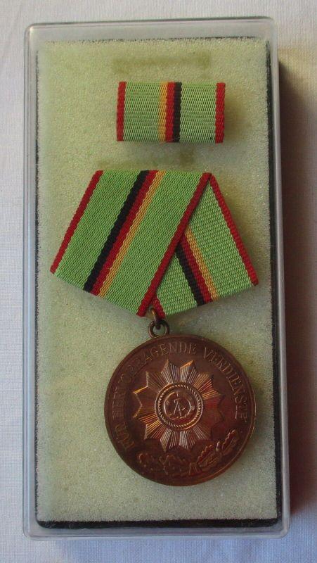 DDR Verdienstmedaille des MdI Ministerium des Innern in Bronze (104100) 0