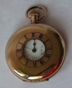 Halbsavonette Taschenuhr H.Samuel Manchester 16 jewels (114524)