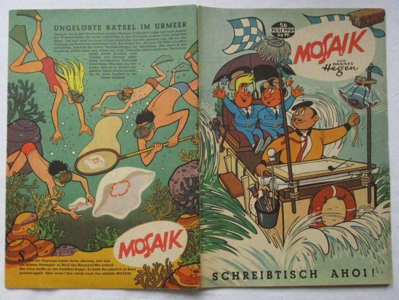 Mosaik von Hannes Hegen Digedag Nummer 56 von 1961 (129777)