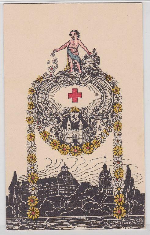 89085 Festpostkarte Margaretentag Weißenfels