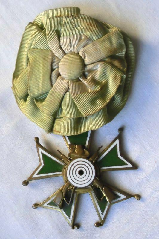 Seltener emaillierter Schützen Orden Zwickau Marienthal 1930 (116648)