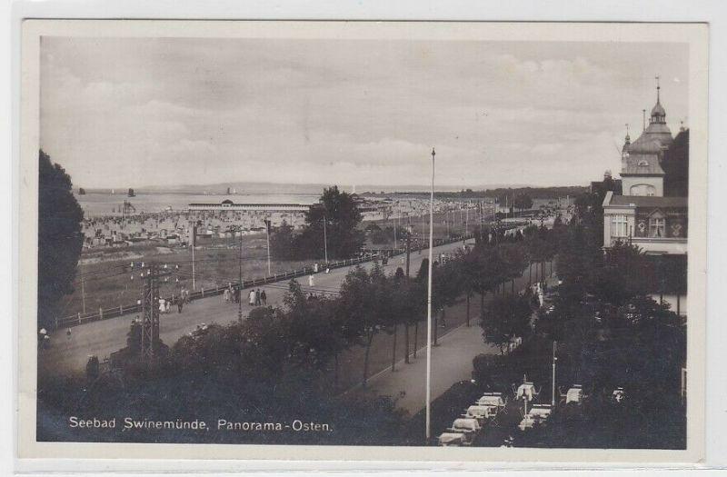 67132 AK Seebad Swinemünde - Panorama-Osten 1933