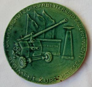 DDR Medaille Regiment Kurt Kresse - Schutz der Arbeiter- & Bauernmacht (116746)