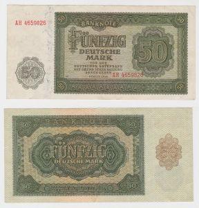 Banknote 50 Mark DDR 1948 Deutsche Notenbank (130445)