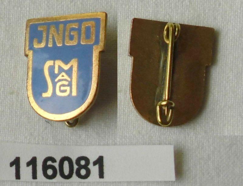 Altes emailliertes Abzeichen INGO SMAG (Salzgitter?) um 1930  (116081)