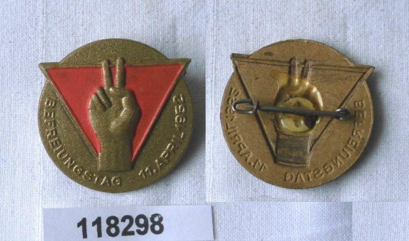 Seltenes DDR Papp Abzeichen antifaschist. Widerstandskämpfer 1952 (118298)