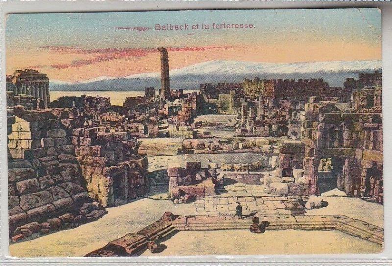 68086 Ak Balbeck et la Forteresse um 1915