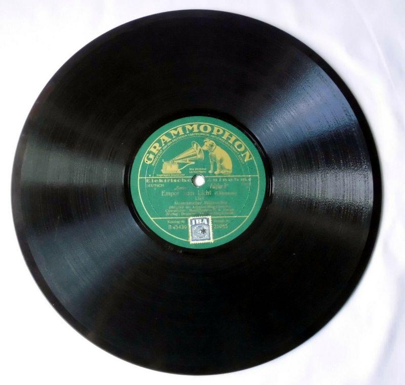 119092 Schellackplatte Meinekescher Männerchor