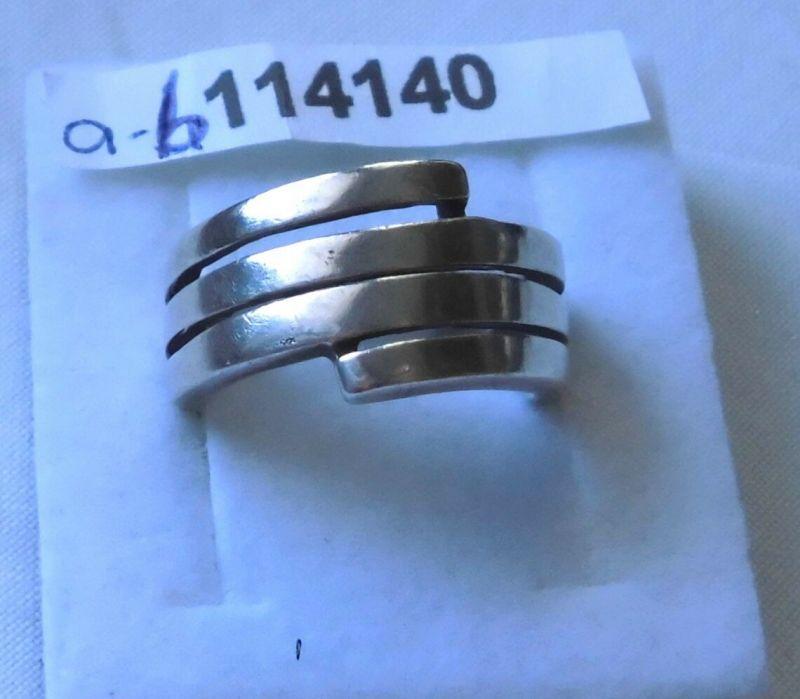 Attraktiver Damen-Ring Silber 925 Spirale (114140)
