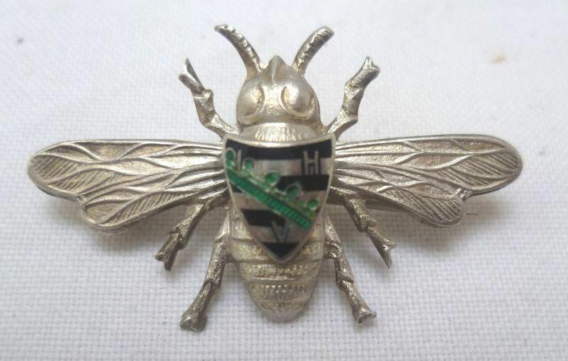 Seltenes Abzeichen L.H.V. Landwirtschaftlicher Hausfrauenverein 800er Silber
