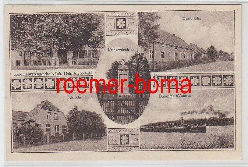 77154 Mehrbild Ak Gruß aus Költsch Kiełcz Kolonialwarengeschäft usw. 1929
