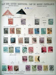 Schöne hochwertige Briefmarkensammlung Kap der guten Hoffnung ab 1853