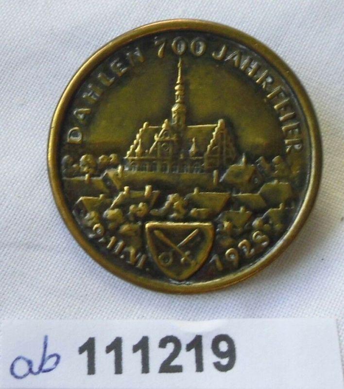 Altes Blech Abzeichen Dahlen 700 Jahr Feier 1928 (111219)