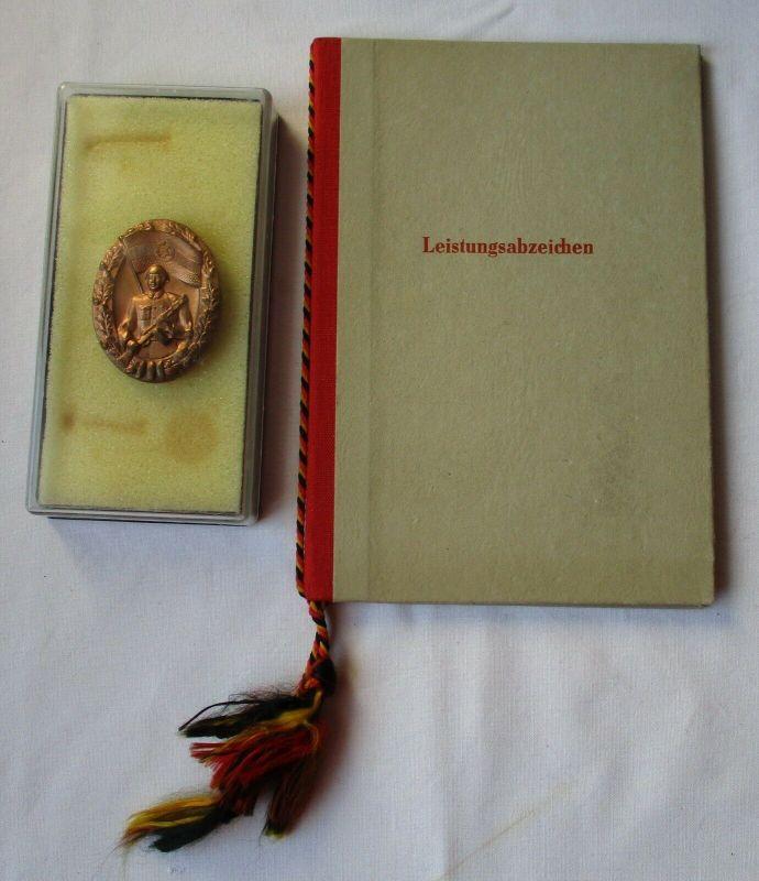 DDR Leistungsabzeichen NVA Nationale Volksarmee + Urkunden 1964 (110484)