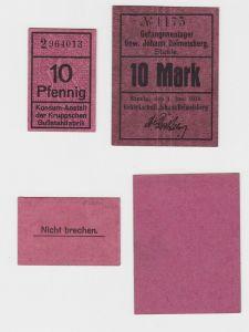 10 Mark Banknote Gefangenenlager Steele 1.Juni 1918 (130669)