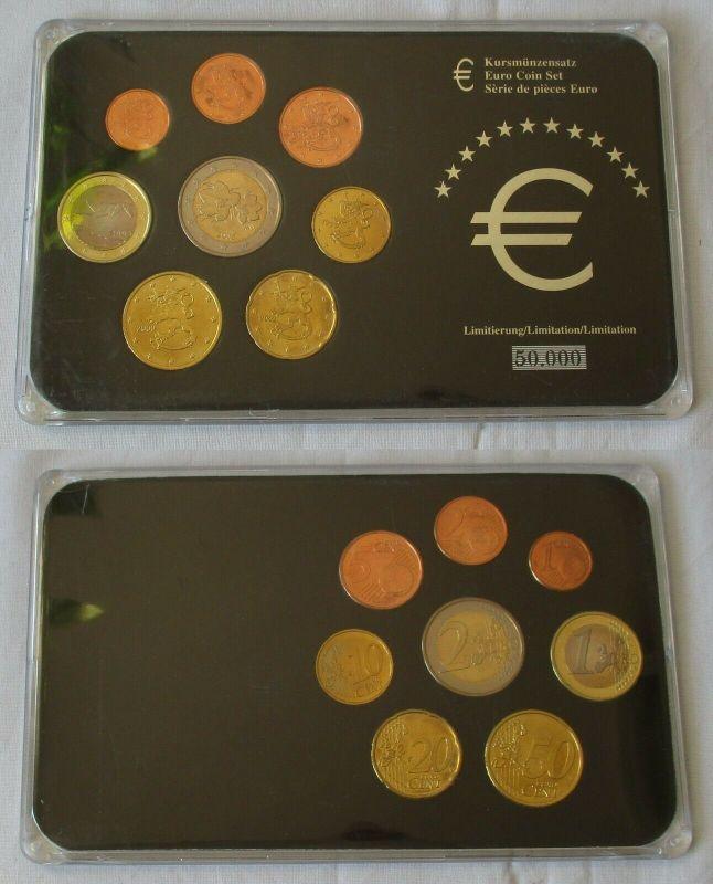 Finnland KMS Kursmünzensatz 1 Cent bis 2 Euro Stempelglanz im Blister (132400)