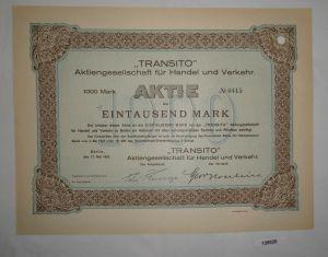1000 Mark Aktie