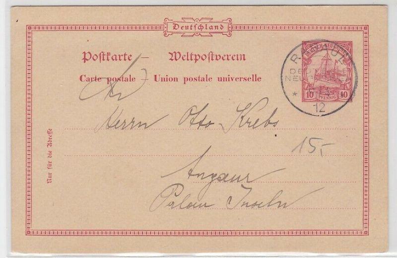 08069 Ganzsachen AK Deutsch-Neu-Guinea Radaul 1912