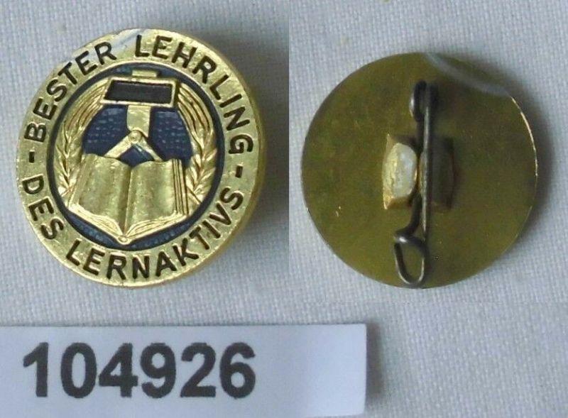 Seltenes DDR Abzeichen Bester Lehrling des Lernaktivs (104926)
