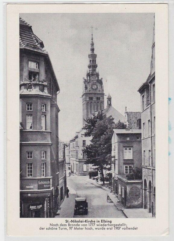 84713 AK Elbing - St. Nikolaikirche, nach dem Brand von 1777 wiederhergestellt