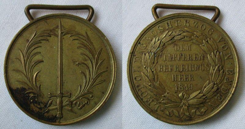 Baden Großherzogtum Gedächtnis-Medaille für 1849 (126443)