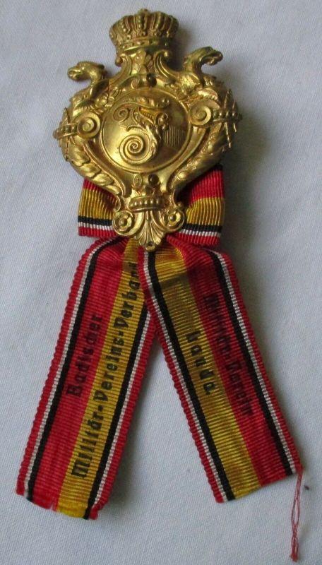 Seltenes Mitgliedsabzeichen Badischer Militärvereins-Bund (122757)