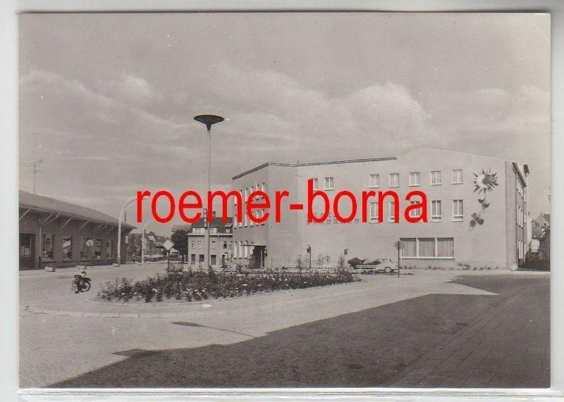 58315 Ak Schmölln (Bez. Leipzig) Platz der Neuerer 1976