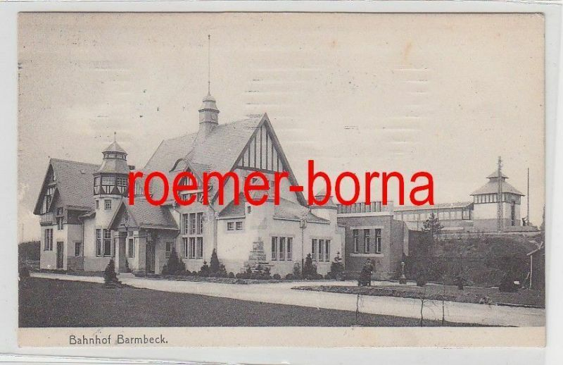 37404 Bahnhof Barmbeck 1906
