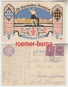 69950 Ak 13.Deutsches Turnfest München 1923
