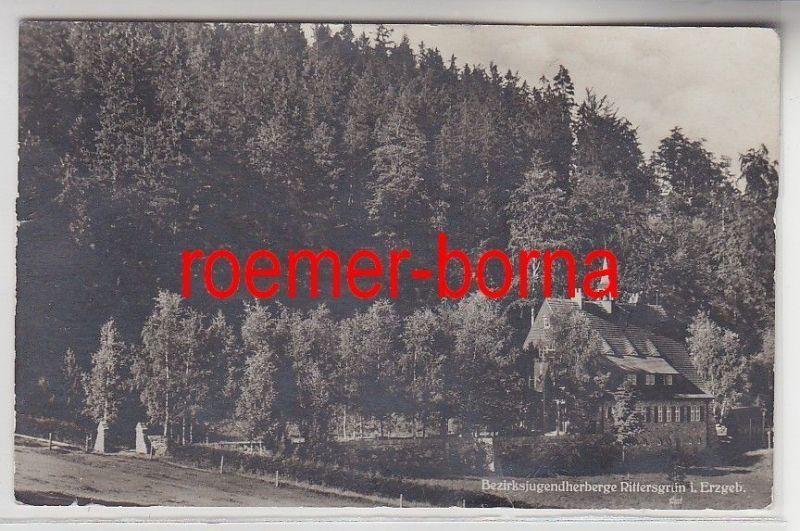 75465 Foto Ak Bezirksjugendherberge Rittersgrün i.Erzgeb. 1942