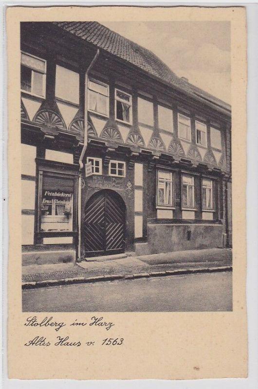 91149 AK Stolberg im Harz - Altes Haus von 1563
