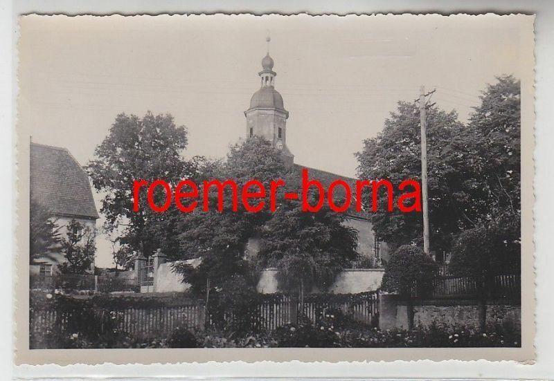 76240 Original Foto Merkwitz Kirche um 1930