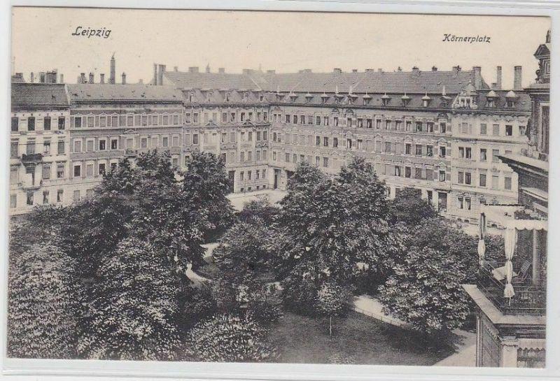 77155 Ak Leipzig Körnerplatz 1907