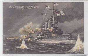 10563 Feldpost Ak Die Seeschlacht in der Nordsee am 24.01.1915