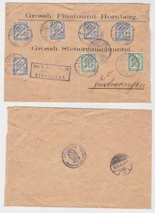 Brief Frei durch Ablösung Nr.16, 1905 Michel Nr. 9 und 11 (123595)